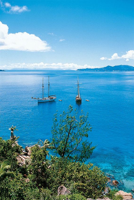 Sea Pearl und Sea Shell, Sea Pearl, Seychellen