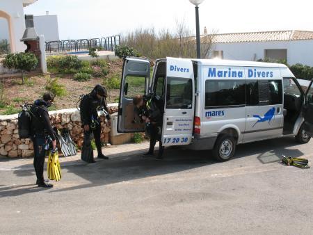 Marina Divers,Arenal d´en Castel,Menorca,Balearen,Spanien