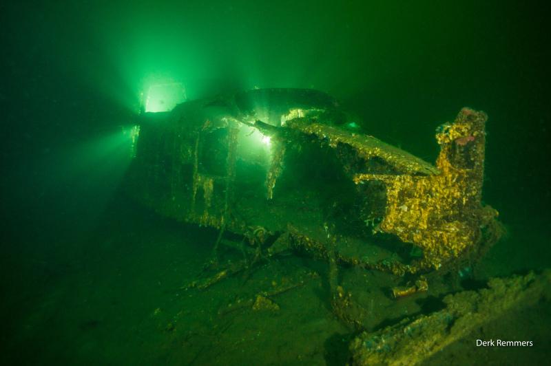 Do-24 - Foto von Derk Remmers, Wrack der DO-24, Kristiansand, Norwegen