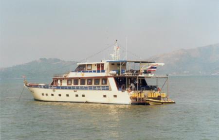M/V Mare West zum Mergui Archipel und Burma Banks,Myanmar