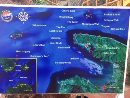 Dakak Aqua Sports,Dapitan,Mindanao,Philippinen