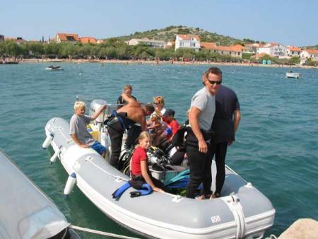 Najada Diving,Murter,Kroatien