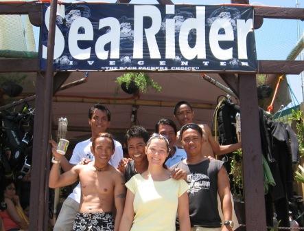 Sea Rider,small la laguna,(Puerto Galera) Mindoro,Philippinen