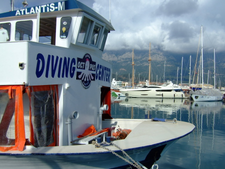 Octopus Diving Center,Kemer,Türkei