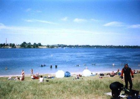 Kulkwitzsee, Kulkwitzer See,Leipzig/Lausen,Sachsen,Deutschland