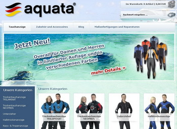 Aquata Onlineshop vs. Fachhandel
