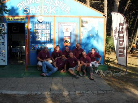 Shark Diving Center,Medulin,Kroatien