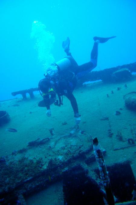 Wrack der Dolphin,El Portillo/ Las Terrenas,Dominikanische Republik