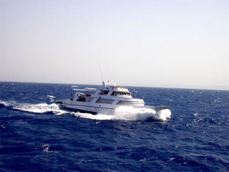 M/Y Thunderbird,Ägypten