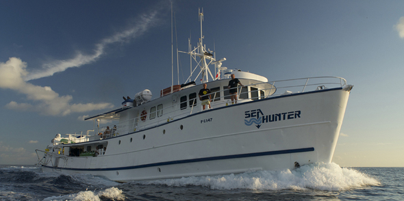 Sea Hunter, Costa Rica