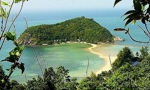 Koh Phangan Mae Haad Bay, Koh Phangan Mae Haad Bay,Thailand