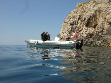 Achilleon Diving Center,Paleokastritsa,Korfu,Griechenland