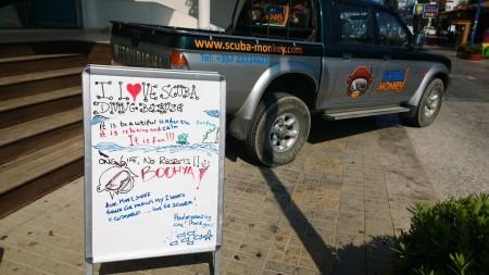 SCUBA Monkey,Zypern