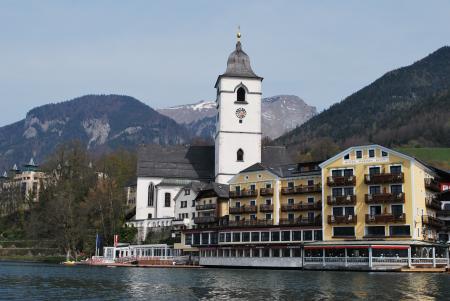 Romantik Restaurant Kaiserterrasse (Im Weissen Rössl),St. Wolfgang/Wolfgangsee,Österreich
