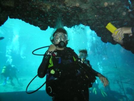 Bird`s Underwater Dive Center,Crystal River,Florida,USA