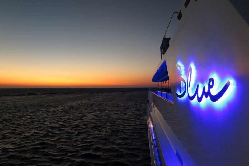 M/Y Blue, Ägypten