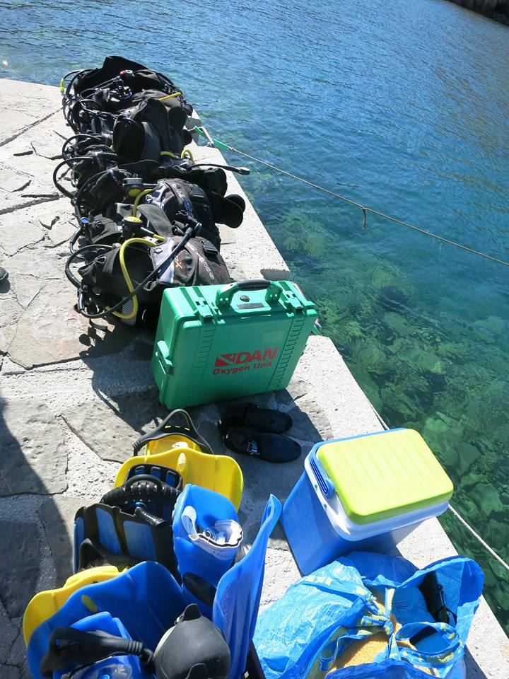 Equipment, Scuba Fantasea, Club Aldiana Kreta, Griechenland
