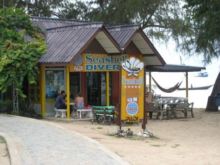 Seashell Beach Resort,Sairee Beach,Koh Tao,Thailand