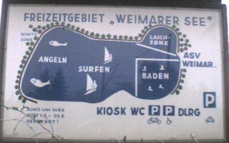 Niederweimarer See,Hessen,Deutschland