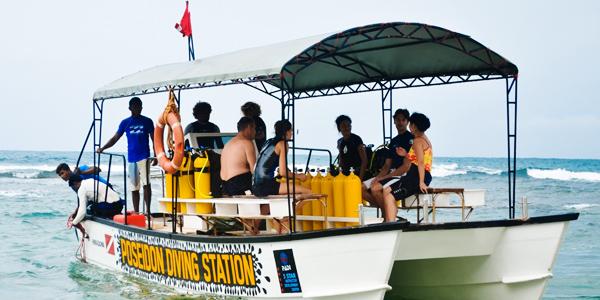 Poseidon Diving Station, Hikkaduwa, Sri Lanka