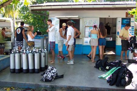 Raie Manta Club,Rangiroa,Französisch-Polynesien