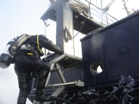 Tauch- u. Expeditionsschiff MS Fritz Reuter,Mecklenburg-Vorpommern,Deutschland