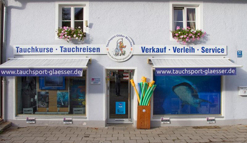 Tauchsport Gläßer, München, Deutschland, Bayern