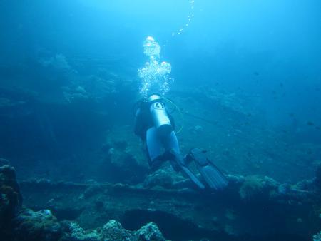 Wrack USS Liberty,Tulamben,Indonesien
