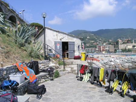 Manta Sub,Recco,Nähe Portofino (Ligurien),Italien