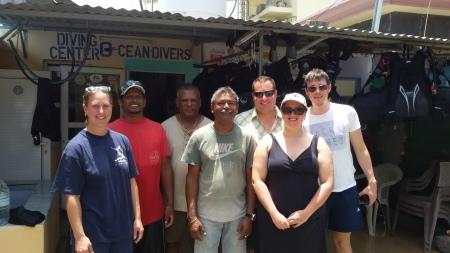 Ocean Divers,Flic en Flac,Mauritius