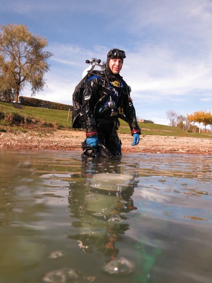 Skills trainieren in Pfullendorf , Tauchteam Bodensee, Bodensee, Deutschland, Baden Württemberg