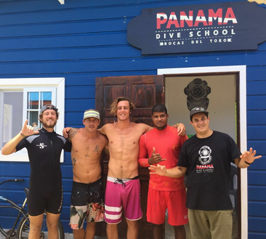 Panama Dive School, Bocas del Toro, Panama