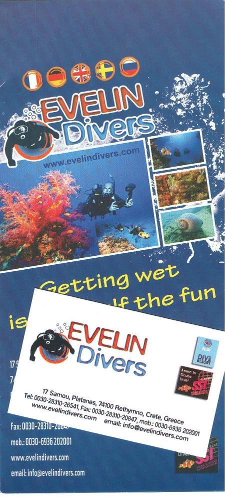 Evelin Divers,Rethymon - Kreta,Griechenland