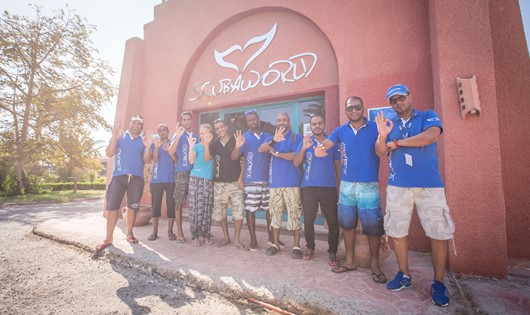 Scuba World Divers Team im SENTIDO Oriental Dreams Resort El Quseir, Scuba World Divers El Quseir, SENTIDO Oriental Dream Resort, Ägypten, El Quseir bis Port Ghalib