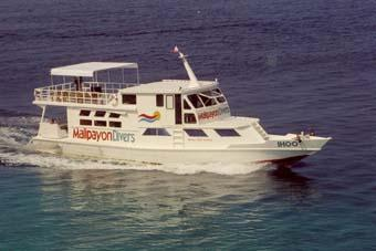 MY Ihoo - Malipayon Divers,Philippinen