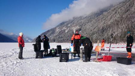 Tauchbasis Dive-World,Weissensee-Ost,Österreich