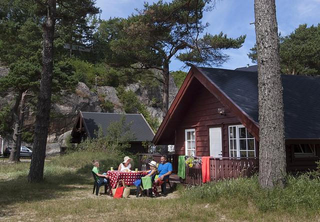 Hutte, OneOcean Dive Resort Hotel, Norwegen