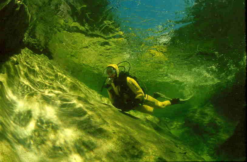Mitterweißenbach - aber bei Sonnenschein, Mitterweißenbach,Österreich,Flusstauchen,klar,Gumpen