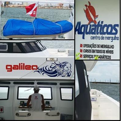 Aquaticos Dive Center,Recife,Pernambuco,Brasilien