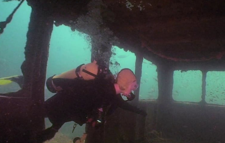 Black Bart (Panhandle Shipwreck Diving Trail), USA, Florida