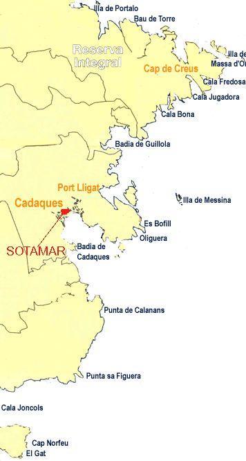 Sotamar,Cadaques,Festland,Spanien