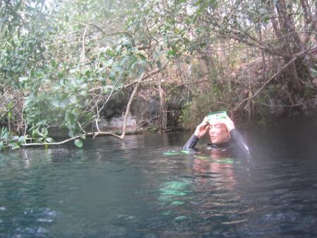 Cenote Angelita,Mexiko
