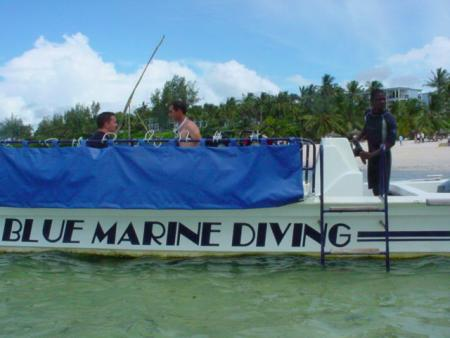 Blue Marine Diving,Kenia