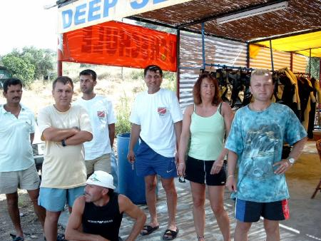 Deep Sea Diving,Karaburun Alanya,Türkei