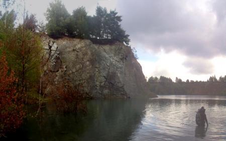 Steinbruch Borek,Tschechien