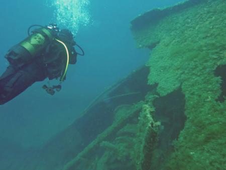 San Fruttuoso Diving Center,Ligurien,Italien