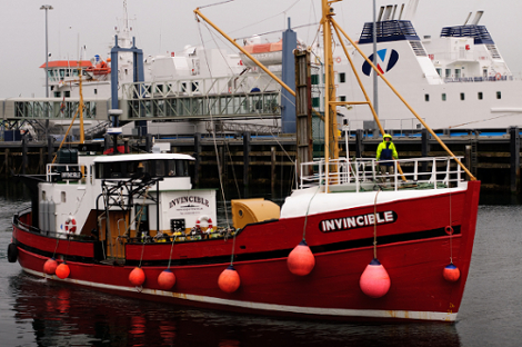 MV Invincible - Scapa Flow Diving Holidays, Scapa Flow Diving Holidays, MV Invincible, Stromness, Großbritannien, Schottland