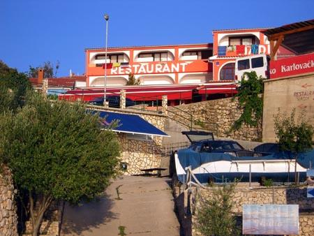 Restaurant Nadia in Stara Baska,Blue Dive Stara Baska,Krk,Kroatien