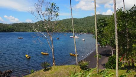Black Sand Dive Retreat,Sulawesi,Indonesien