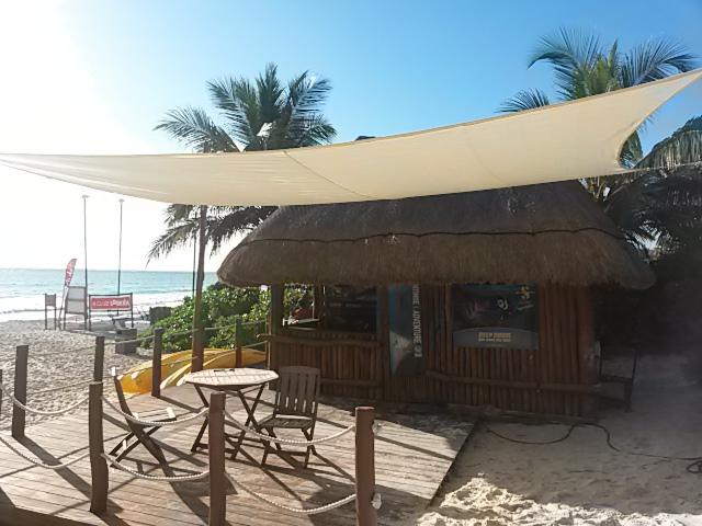 Pro Dive Basis am Strand - Catalonia Playa Maroma , Pro Dive Mexico, Catalonia Hotel,  Playa Maroma, Mexiko